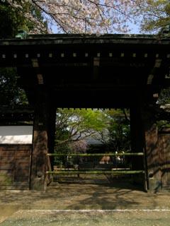 大正寺の門